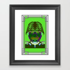 Kabuki Transmission Framed Art Print