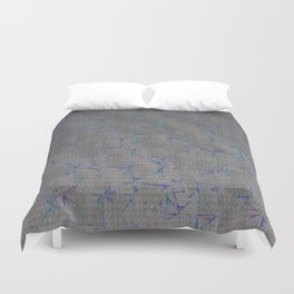 Distortion (Neutral) Duvet Cover