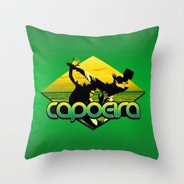 Capoeira Throw Pillow
