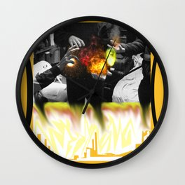 we gots That fire son! Wall Clock