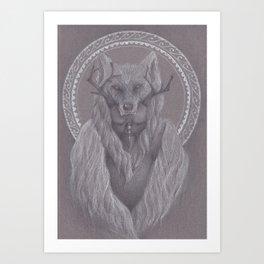 The Shaman Bastard Art Print