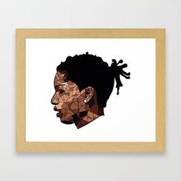 Asap rocky edit  Framed Art Print