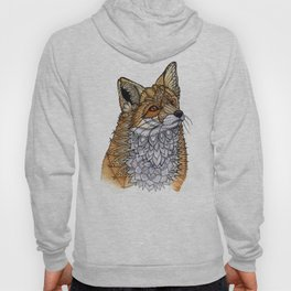 Fox Portrait Hoody
