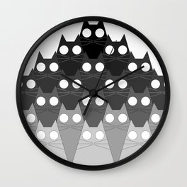 Cats Mountain Wall Clock
