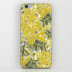 Yellow Mimosa iPhone Skin