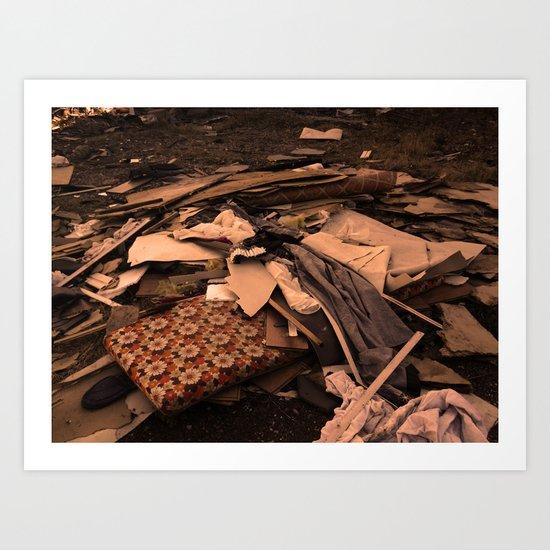 Detritus Art Print