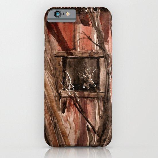 Barn window iPhone & iPod Case
