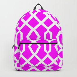 Grille No. 3 -- Violet Backpack