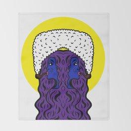 Gemini Goddesses Throw Blanket