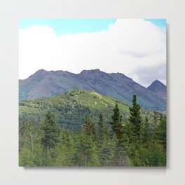 The Mountains Are Calling . . . Metal Print