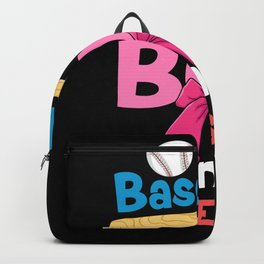 Baseball Or Bow - Gift Backpack