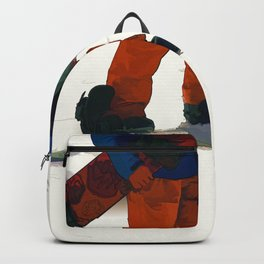 Ready to Ride! - Snowboarder Backpack