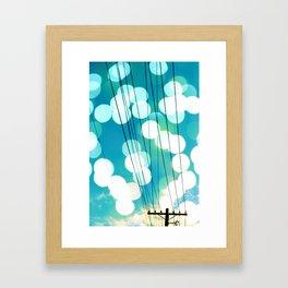 Electrical Enlightment Framed Art Print
