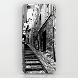 Spoleto, Italy Street Stairs iPhone Skin