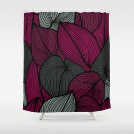 Hostas Shower Curtain