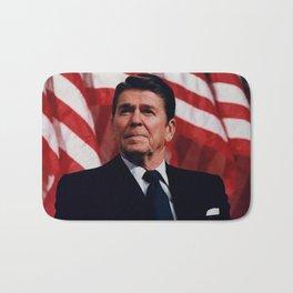 President Ronald Reagan Bath Mat
