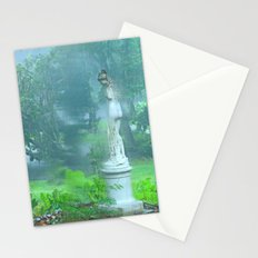 Standing in the Rain Stationery Cards