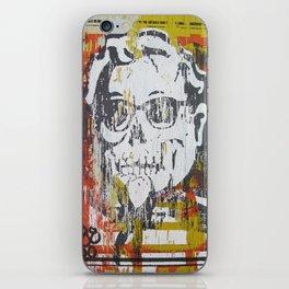 Skull Sanders Distress iPhone Skin