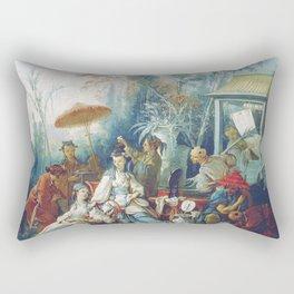 Le Jardin Chinois by François Boucher Rectangular Pillow