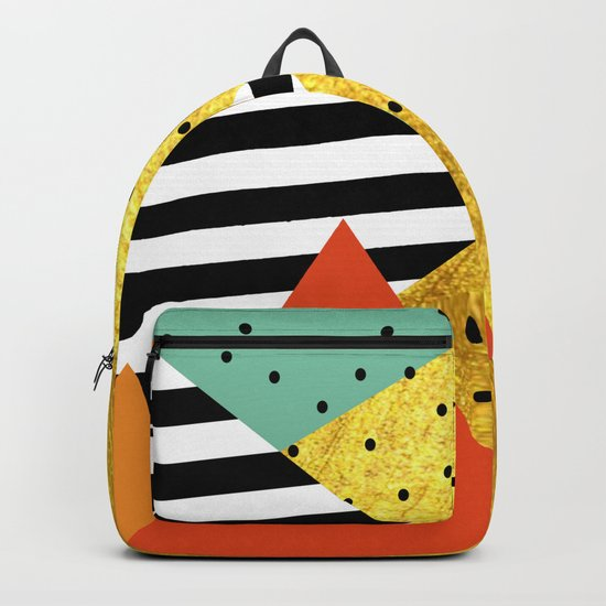 fall abstraction Backpack