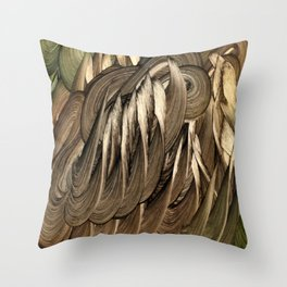 Arvakr Throw Pillow