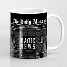 The Daily Mage Fantasy Newspaper II Coffee Mug
