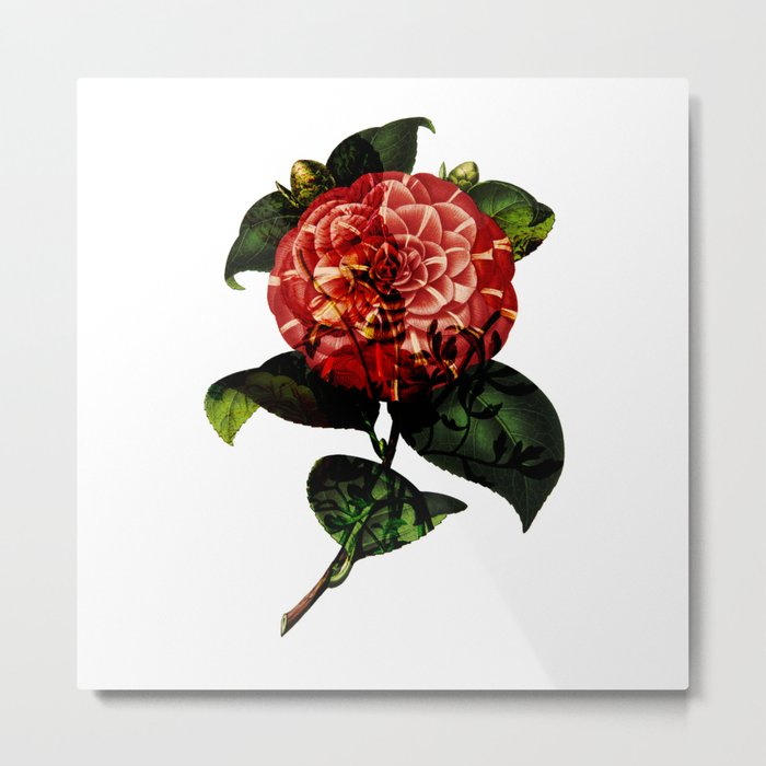 Vintage Bloom Metal Print