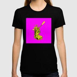 Pop Art La Pavoni Lever Espresso Machine No.1 T-shirt
