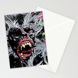 Street Performance 1 Stationery Cards