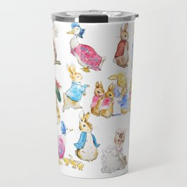 Tales of Peter Rabbit  characters Beatrix Potter Travel Mug