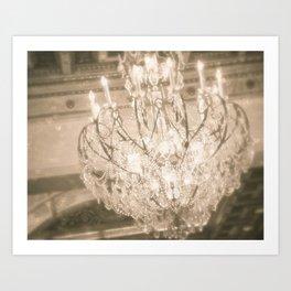 Vintage Light Art Print