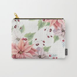 Poinsettia 2 Carry-All Pouch