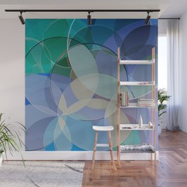 Abstract Composition 627 Wall Mural