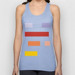Colored lines #society6 #decor #buyart #artprint Unisex Tank Top