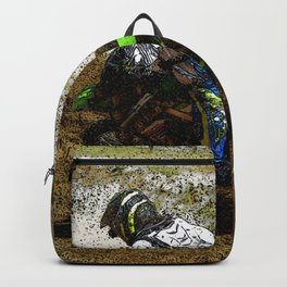 Round the Bend - Dirt-Bike Racing Backpack