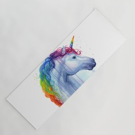 Magical Rainbow Unicorn Yoga Mat