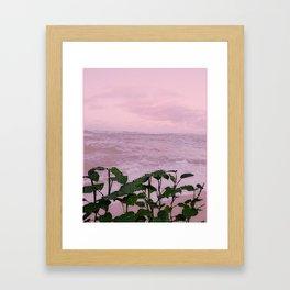 Beach Vibes Framed Art Print