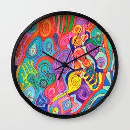 Jungle Nights Wall Clock