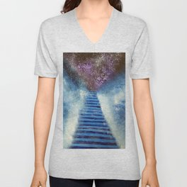 Path to another dimension Unisex V-Neck