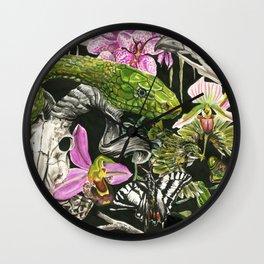 Jungle Jam Wall Clock