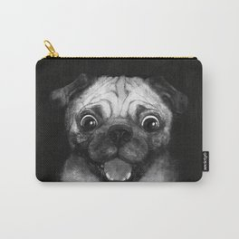 Snuggle pug Carry-All Pouch