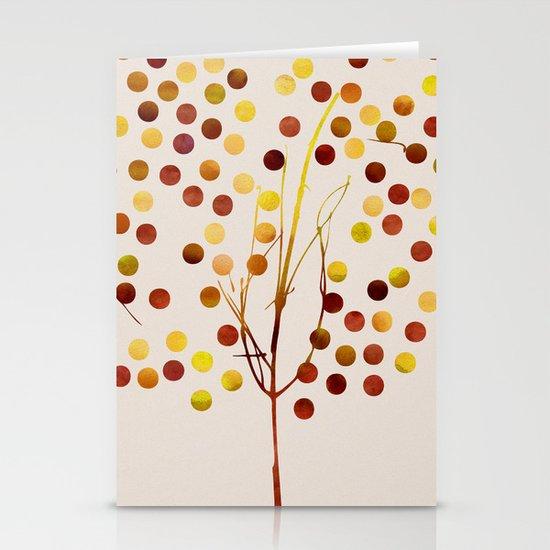 Tree of Life Amber by Jacqueline Maldonado & Garima Dhawan Stationery Cards