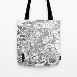 EPIC 25 Doodle art Tote Bag