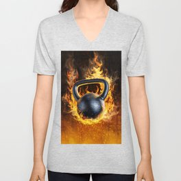 Too Hot to Handle Unisex V-Neck