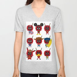 PURE DEAD POOL Unisex V-Neck