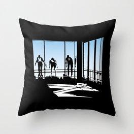 Ferris Bueller and Friends Throw Pillow