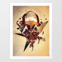 mother Art Prints featuring Mother by Andrej Balaz