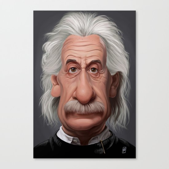 Celebrity Sunday ~ Albert Einstein Canvas Print