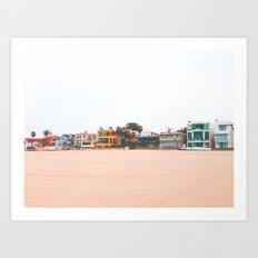 Dreams in Venice, California Art Print