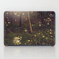 fireflies iPad Cases featuring Fireflies by Maureen Anne